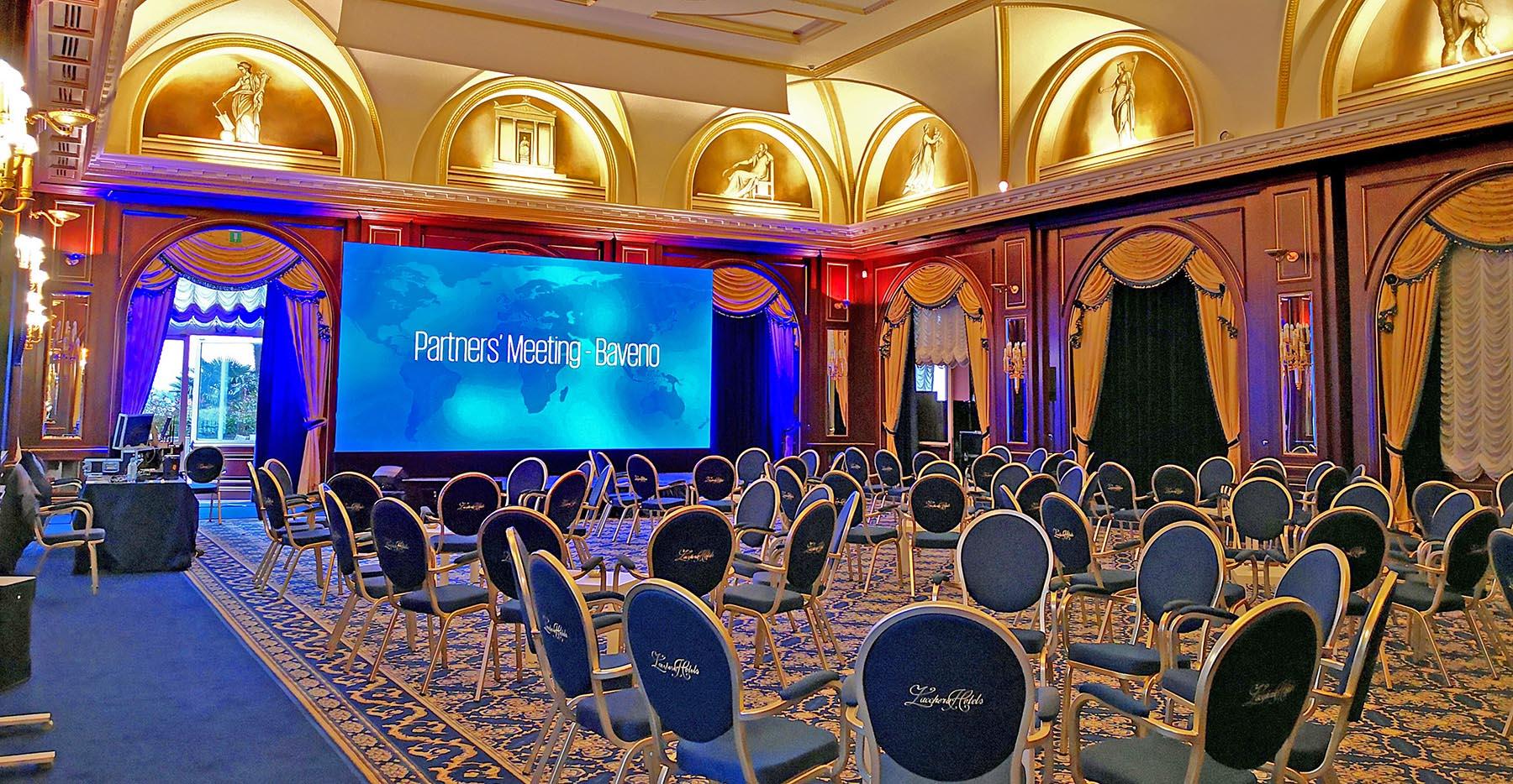 noleggio ledwall per eventi, congressi, convention